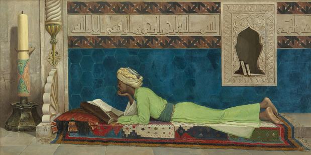 Louvre abu dhabi osman hamdi bey jeune emir a letude 1878 medium