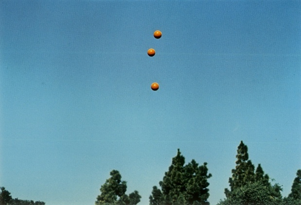 Galerie see studio john baldessari throwing three balls in the air to get a straight line best of the thirty six atempts medium