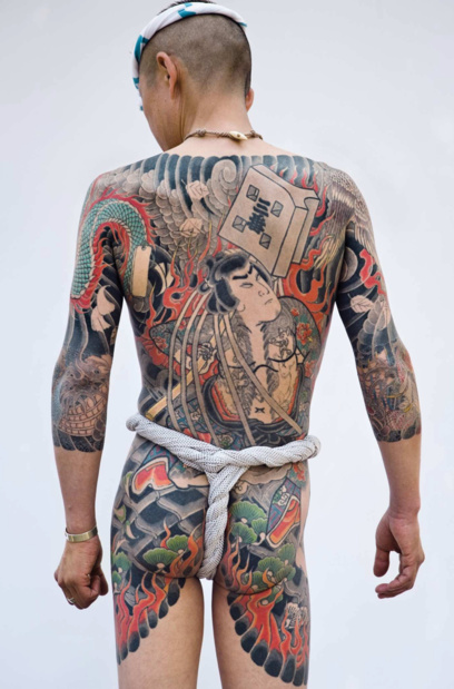 Musee du quai branly traditional japanese tattoo martin hladik medium