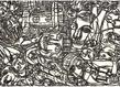 Galerie christian berst michel nedjar sans titre p riode de belleville 1986 grid