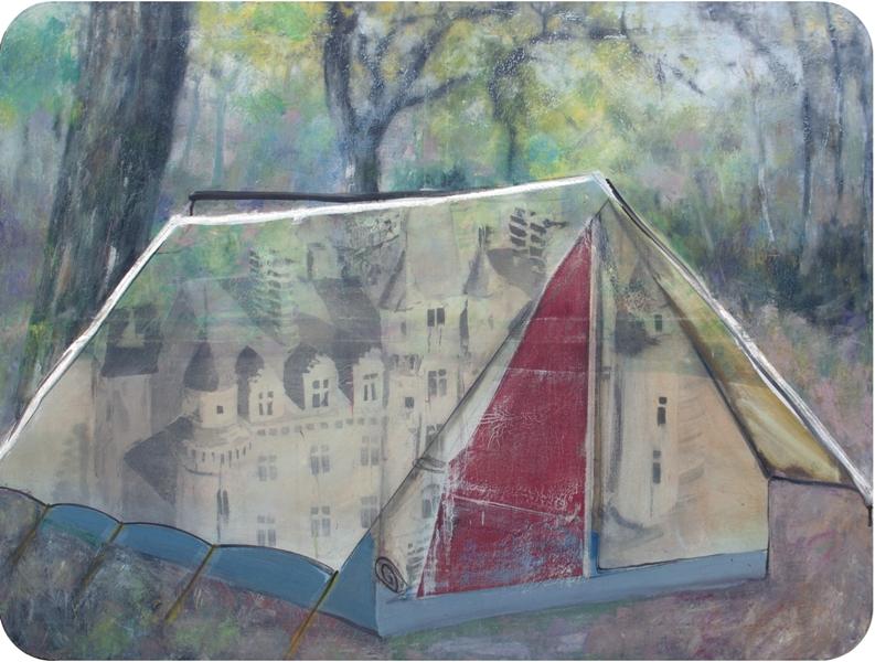 Galerie derouillon fabien boitard tente chateau n 5  2014 original
