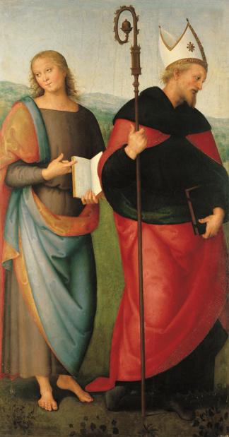 Musee jaquemard andre le perugin st jean l evangeliste et st augustin medium