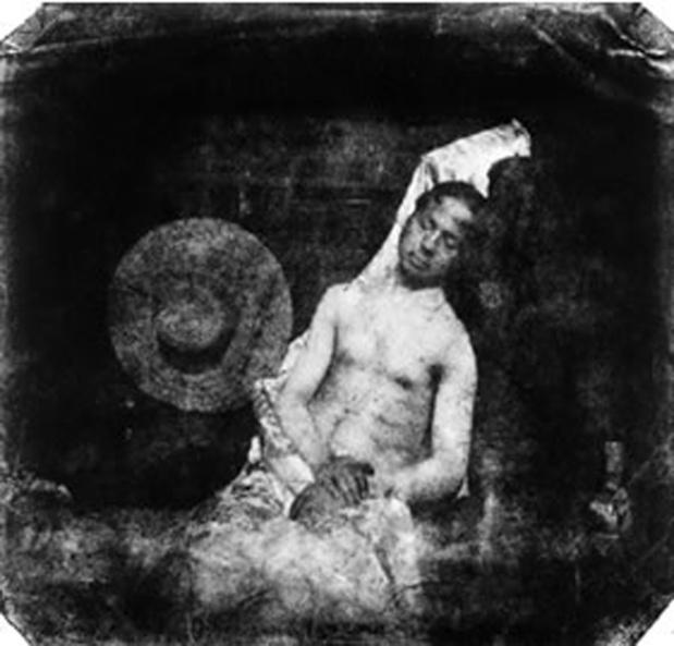 Hippolyte bayard autoportrait en noye  cpif medium