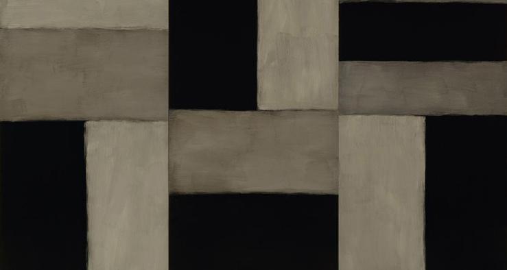 Sean Scully, Doric Angel, 2011 (Détail)—Huile sur aluminium—280 × 406 cm