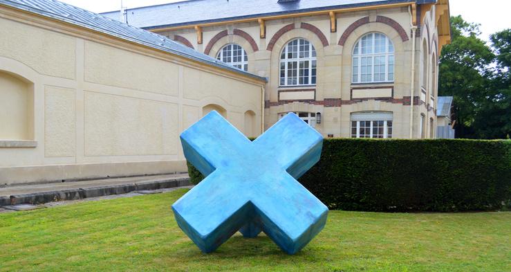 Ernesto Sartori, Une multiplication, 2014—Vue de l'exposition «Sèvres Outdoors 2014»