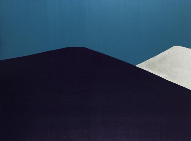 Anna eva bergman peintures 1977 1987 paysage de montagne large medium