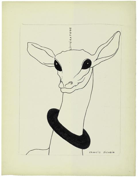 Francis picabia sans titre projet pour litt rature 1922 1924 2 medium