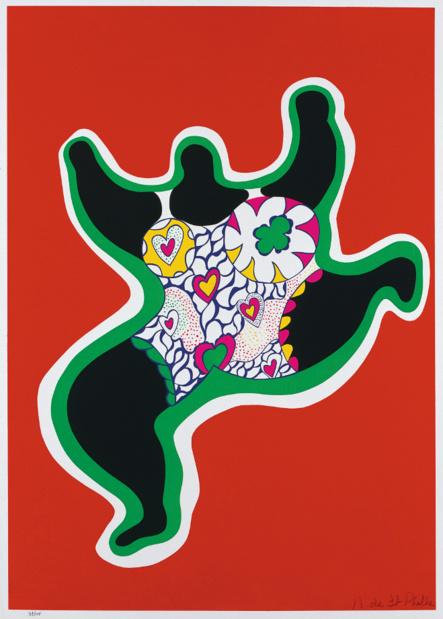 Les galeries nationales du grand palais niki de saint phalle leaping nana medium