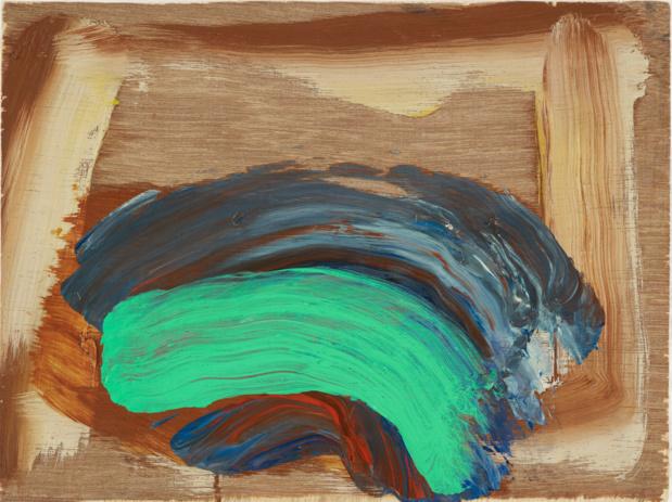 Gagosian gallery howard hodgkin indian waves medium