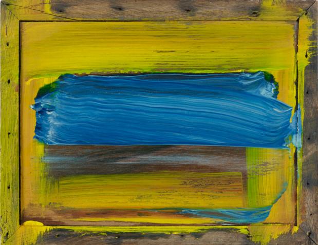 Gagosian gallery howard hodgkin sea medium