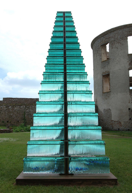 Inception gallery danny lane stairway 2005 borgholm castle sweden photo peter wood medium