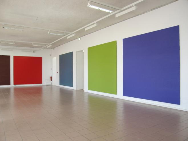 Vue de l'exposition à la Villa Tamaris, 2007