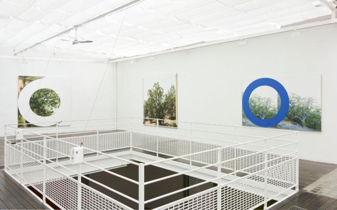 Vue de l'exposition «James Hyde», Galerie Les filles du calvaire, 2014