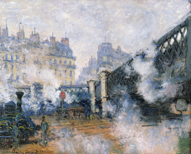 Claude monet le pont de leurope gare saint lazare 1877 medium