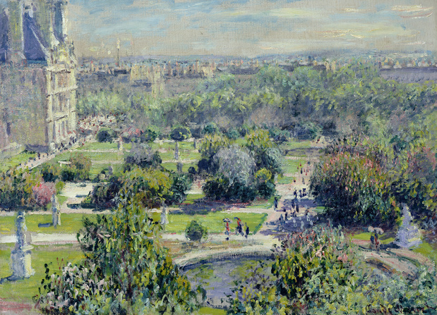 Claude monet les tuileries 1876 medium