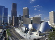 Frank gehry wall disney concert hall 1987 2003 los angeles californie gehry partners llp  grid