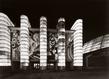 Facade principale du palais des chemins de fer delaunay centre pompidou grid