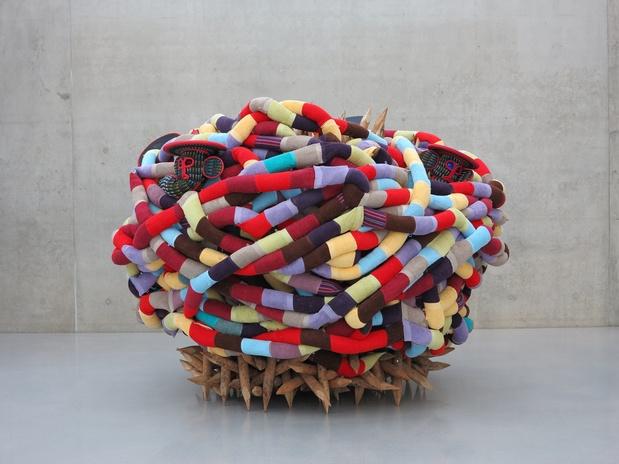 Pascale marthine tayou big pata fiac 2014 galeria continua medium