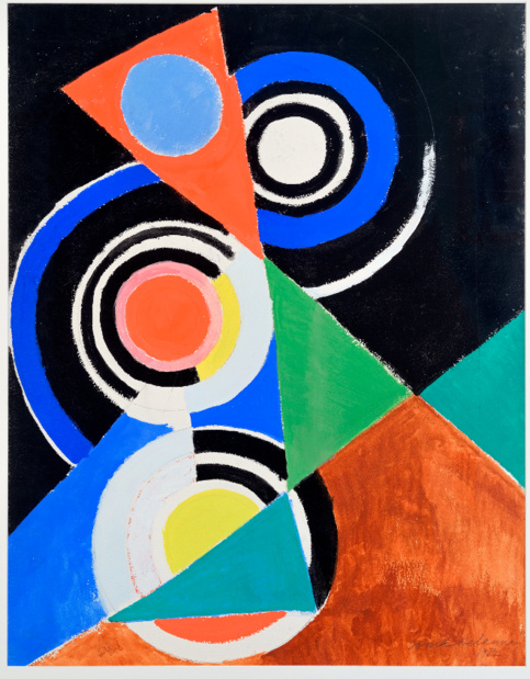 Musee art moderne paris sonia delaunay composition pour jazz medium