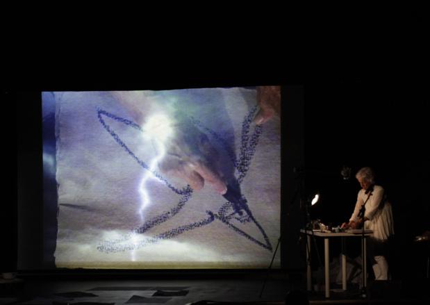 Joan jonas performance ouverture openings musee du louvre medium