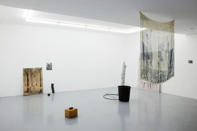 Salvatore Arancio, The Hidden, Vue d'exposition, Ensapc YGREC, 2014