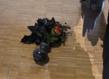 Centre pompidou latifa echakhch encrage le bouquet en plastique grid