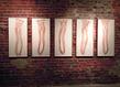 Elo se van der heyden 22mothers 22 2013   monotype sur papier   120 x 68 cm chaque planche  grid
