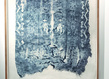 Elo se van der heyden 22pri res les pieds sur terre 5 2014   210 x 134 cm   monotype sur papier cor en grid