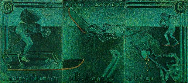 Jan fabre galerie templon paris s aventurer sur du fer glissant medium