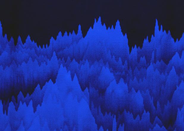 Tapisserie d aubusson cecile le talecpanoramique polyphonique art paris 2015 interieur medium