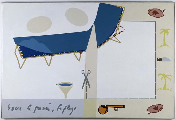 Herve telemaque objets usuels pour vincent van gogh 1970 coo centre pompidou adagp paris 2014 photo brt medium
