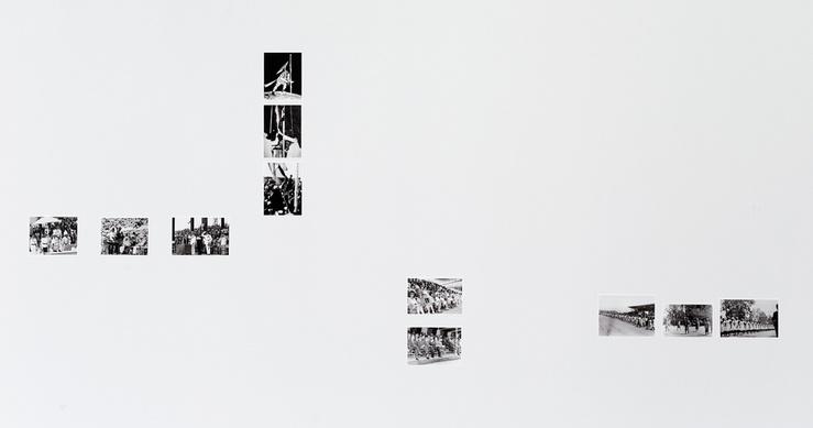 Maryam Jafri, Independence Day 1934-1975, vue d'exposition «Le jour d'après», Bétonsalon, Paris, 2015