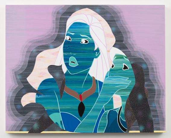 Michael dotson don t speak 2013 acrylic on panel 24 x 30 in. medium