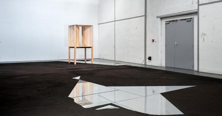 Yael Davids, La Distance entre V et W, vue de l'exposition aux Laboratoires d'Aubervilliers