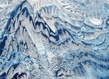 Que vois tu du mont fuji 80x80cm acrylique 2015 grid
