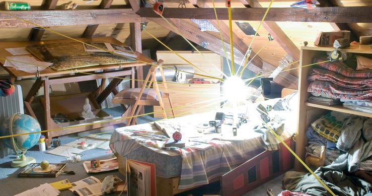 Nicolas Bacal, La gravité de mon orbite autour de toi, tirage couleur, 2009-2010