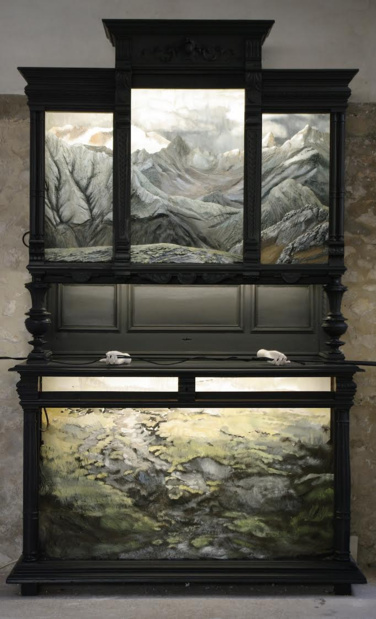 Axel sanson nuit blanche galerie valerie delaunay medium