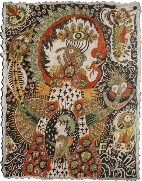 Joal lorand outsider art fair medium