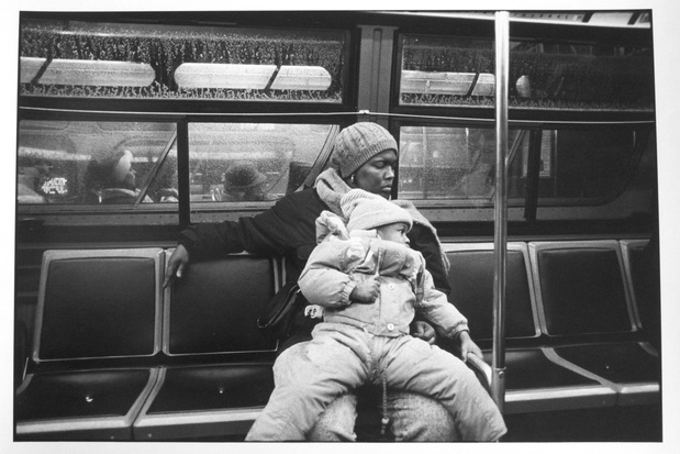 Arndt mother daughter on bus chicago 1989 medium