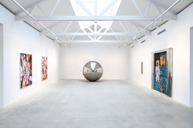 Thaddaeus ropac space age exhibition medium