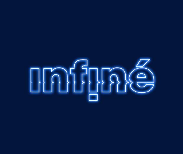 Infin  bleu medium