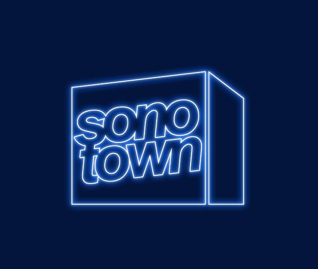 Sonotown bleu medium