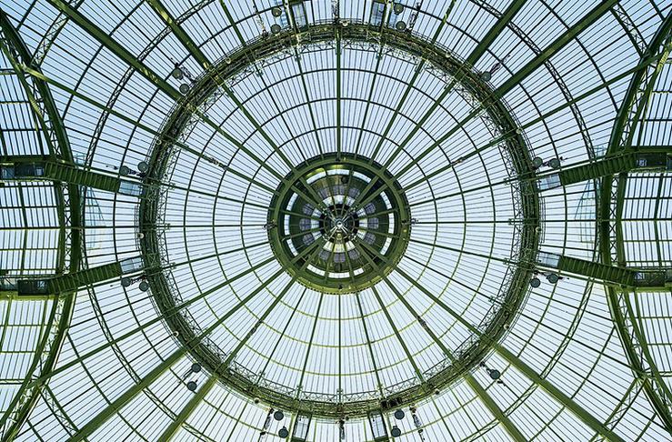 La verrière de la Nef du Grand Palais