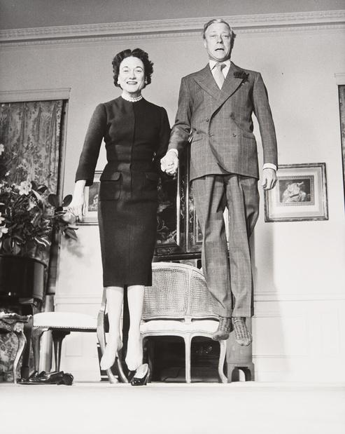 Le duc et la duchesse de windsor 1956 philippe halsman exposition jeu de paume medium