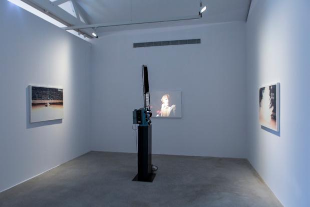 Galerie ropac pantin dennis hopper vue exposition medium