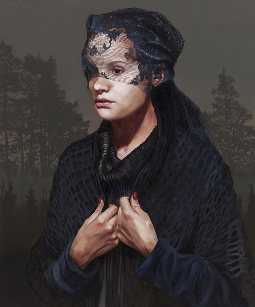 Grief oil on canvas 100x120cm 2015 medium