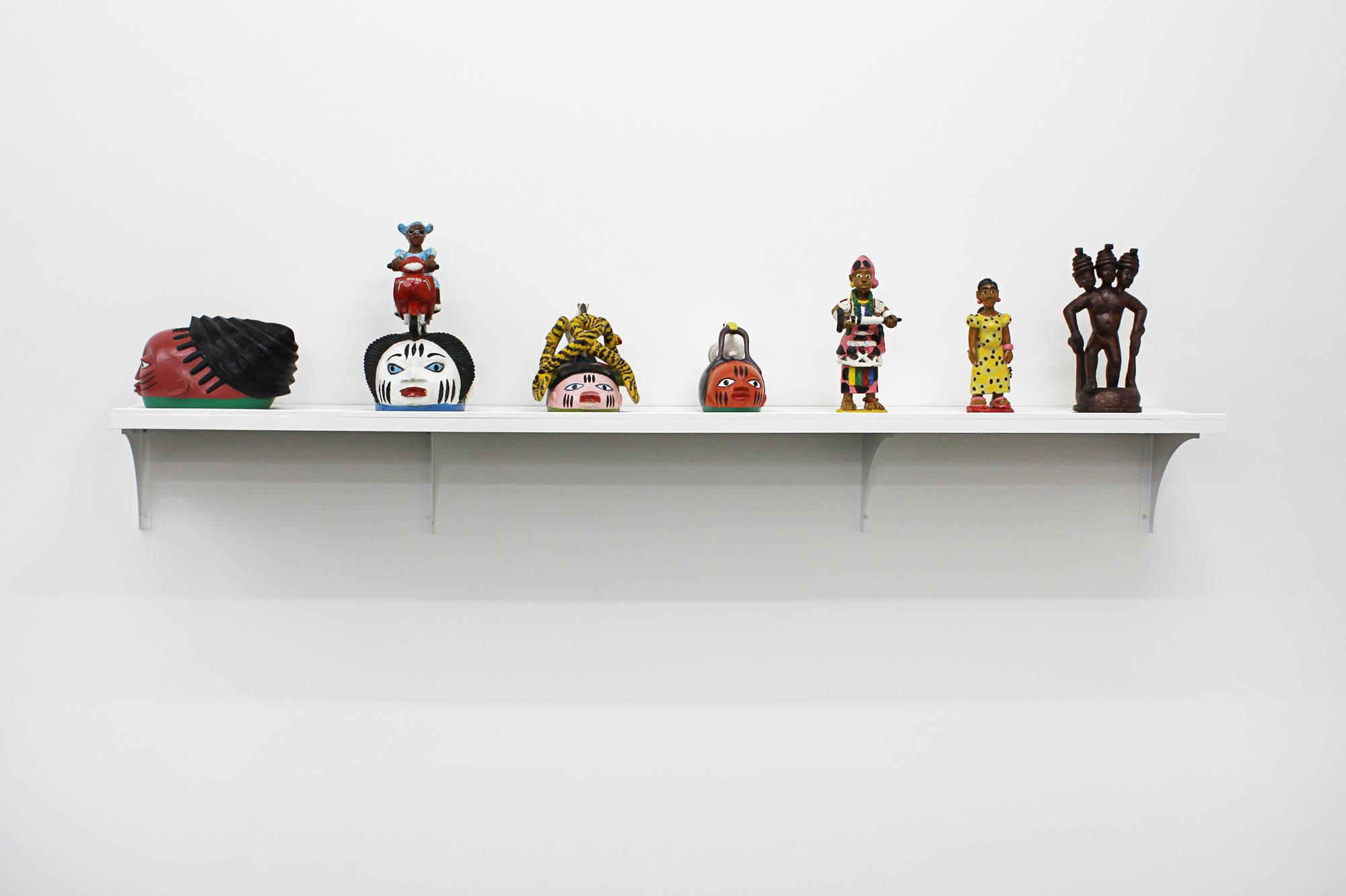 Galerie metropolis art contemporain africain masques original