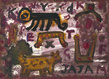 Alan davie jajam opus  og.3778  2013  huile sur papier  21x30 cm   copie grid