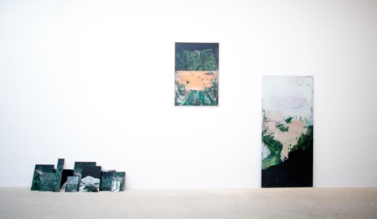 Damien Caccia, vue de l'exposition Jeune Création, 2016