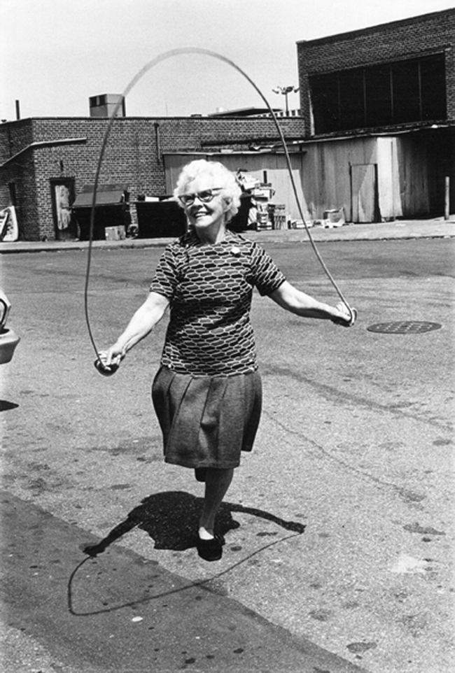 Arlene gottfried 1 isabel croft jumping rope brooklyn. ny. 1972 original